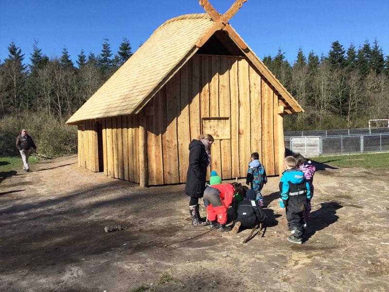 Vikingehuset og børn